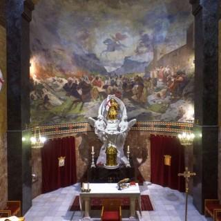 El interior de la Iglesia de San Jorge