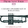 Programa e invitaciones para el I Certámen de bandas