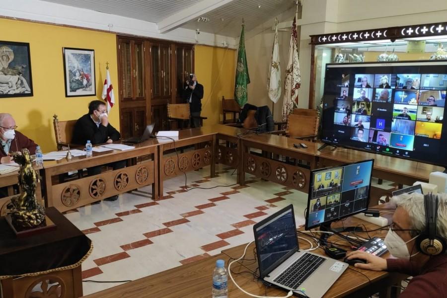 La Asociación de San Jorge presenta las cuentas del ejercicio de 2020 y el presupuesto para 2021