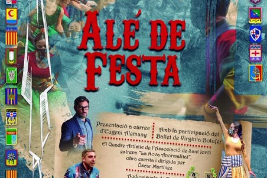 """La Asociación de San Jorge organiza la gala festera """"Alé de Festa"""""""