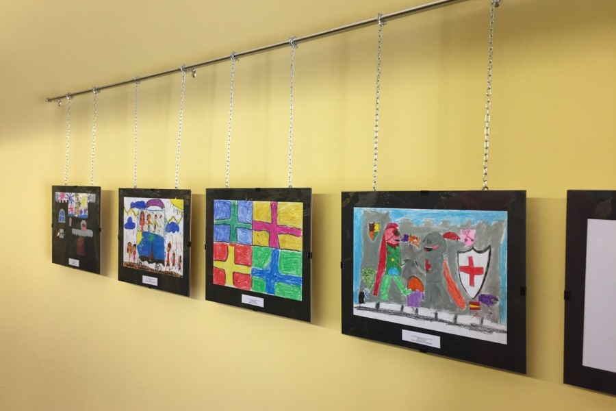 Expuestas en el MAF las obras premiadas de los concursos infantiles de dibujo y pintura