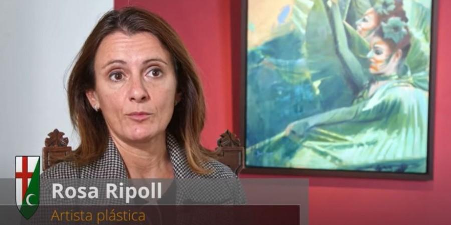 """Entrevista a Rosa Ripoll con motivo de la exposición """"La Memoria Mínima"""""""