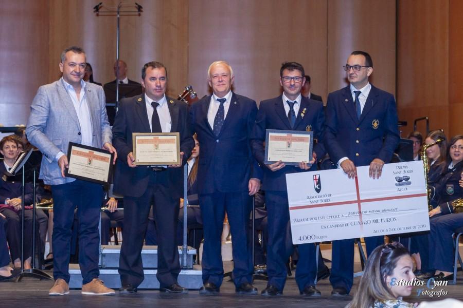La Agrupació Musical Agullent gana el primer premio en el III Certamen de Interpretación de Música Festera.