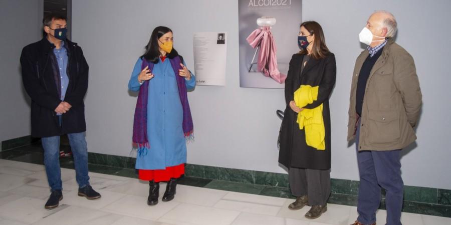 La Sala Fernando Cabrera del MAF acull una mostra que recull el procés creatiu de la portada de la revista de Festes de 2021