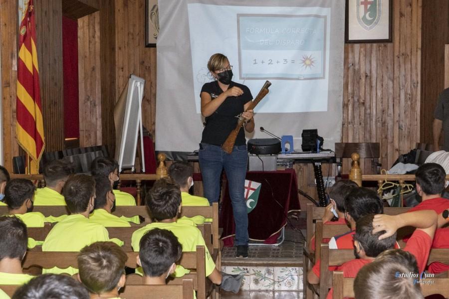 Jornadas de aproximación histórica: educación en el disparo de armas de arcabucería