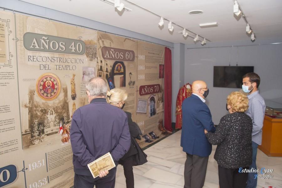"""Inaugurada en el MAF la exposición """"El Templo, su Historia y Cien años vividos"""""""