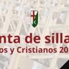 Venta de sillas - Moros y cristianos 2017
