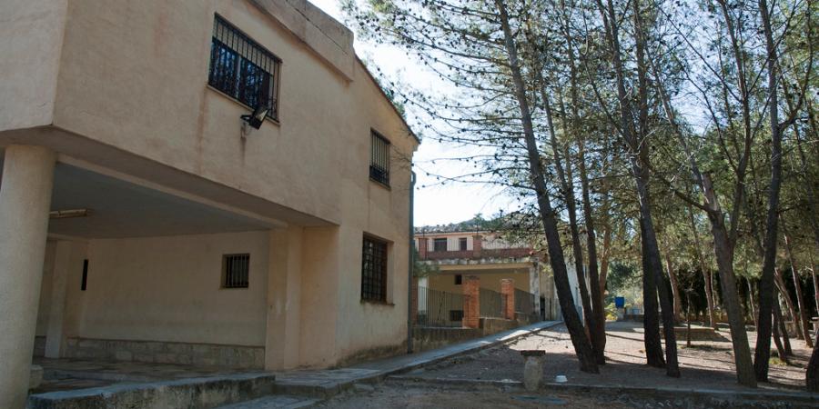 Baradello de Moya: sede del reparto de la pólvora