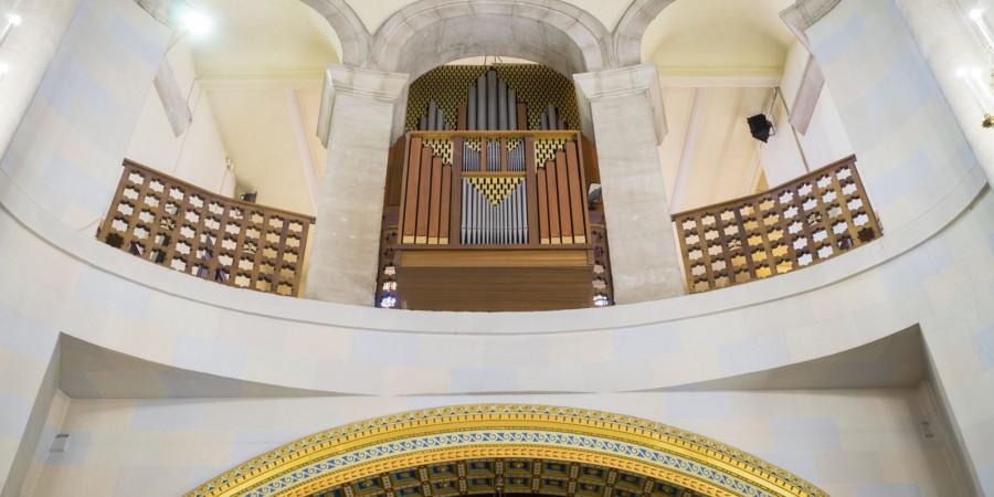 La iglesia de San Jorge acoge los conciertos de Adviento