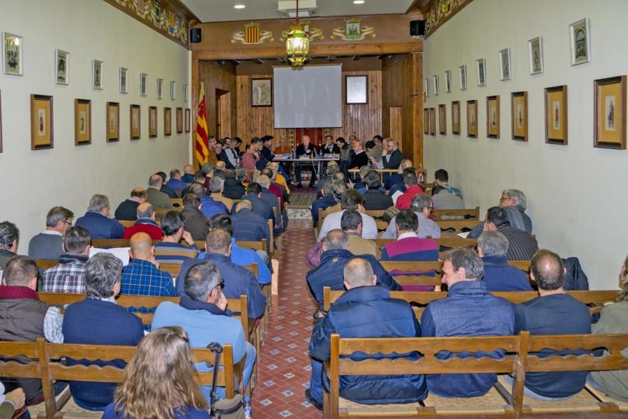 Finaliza el proceso de recogida enmiendas al Estatuto de la Asociación de San Jorge